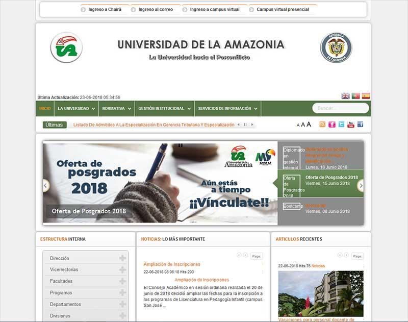 مجله بین المللی universidad de la amazonia